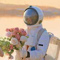 唯美浪漫婚纱真人爱人头像