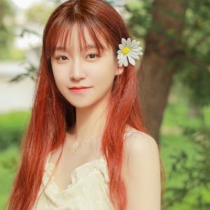 红发美女漂亮头像