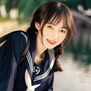 日系胶片风校园美女头像