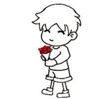 心中充满暖暖的爱_萌痴卡通头像(图)