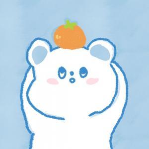 蓝色小熊可爱头像