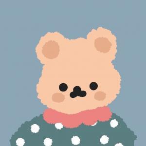 可爱像素风小熊头像