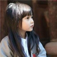 穿汉服的刘楚恬小美女qq头像图片
