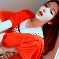 2012火爆流行色橙色嘴唇女生头像_不倾城不倾国只为倾尽所有温暖