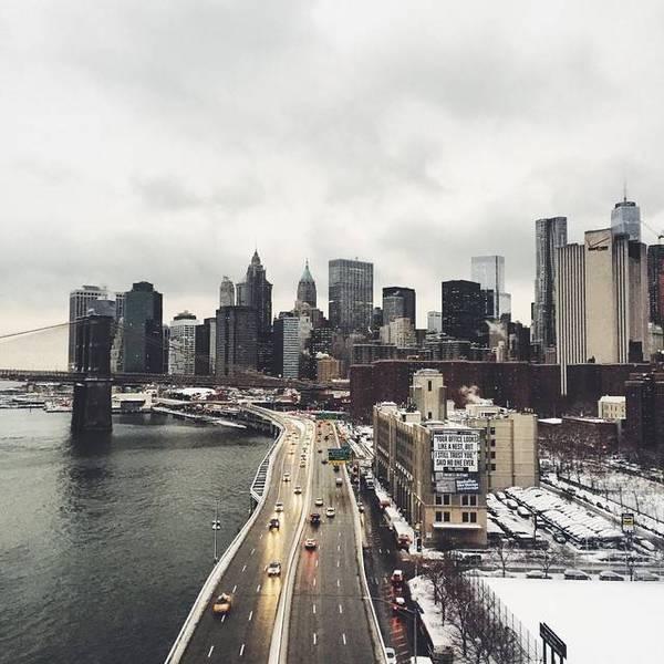 QQ 纽约的冬天