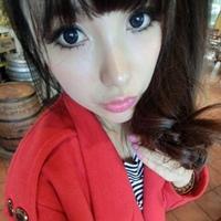 活泼可爱的女生QQ头像:用微笑忘掉了昨晚的忧伤