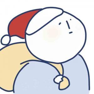 憨憨的圣诞头像