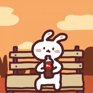 可爱萌萌的兔子头像