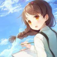 柠市末路少女与泪 可爱女生卡通QQ头像