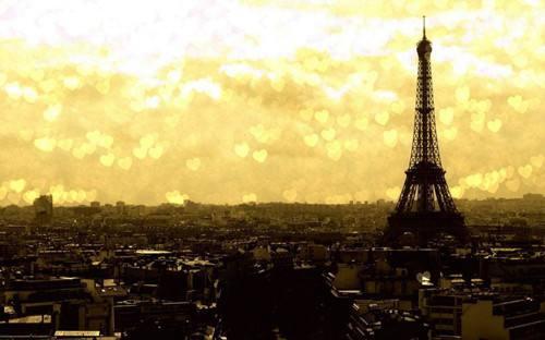 埃菲尔铁塔唯美图片 高高仰望
